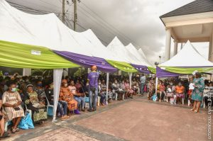 the beneficiaries, who spoke, thanked Dr. Emmanuel for the initiative and expressed optimism that it will go a long way in boosting their businesses. They also promised to repay the loan so others can benefit